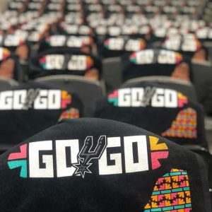 Go Spurs Go : Slogan des San Antonio Spurs pour les Playoffs NBA 2019