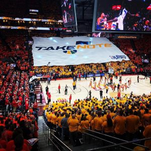 Take Note : Slogan du Utah Jazz pour les Playoffs NBA 2019
