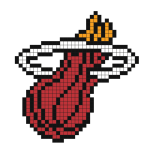 Logo de la franchise NBA du Miami Heat