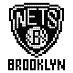 Logo de la franchise NBA des Brooklyn Nets