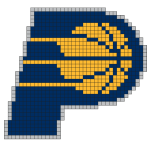 Logo de la franchise NBA des Indiana Pacers