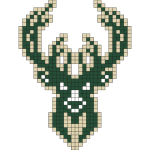 Logo de la franchise NBA des Milwaukee Bucks
