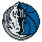Logo de la franchise NBA des Dallas Mavericks