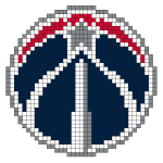 Logo de la franchise NBA des Washington Wizards