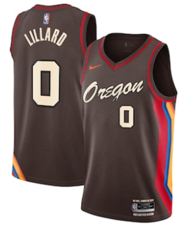 Maillot Nike City Edition 2021 des Portland Trail Blazers