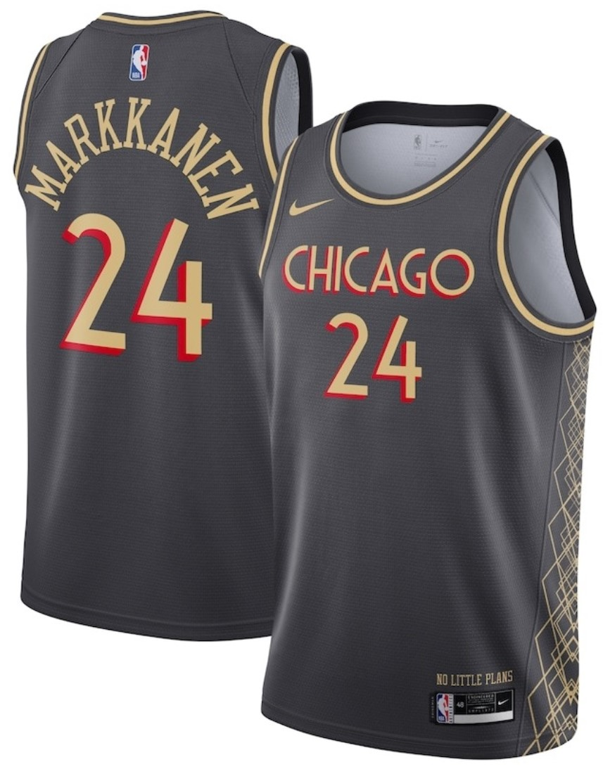 Maillot Nike City Edition 2021 des Chicago Bulls