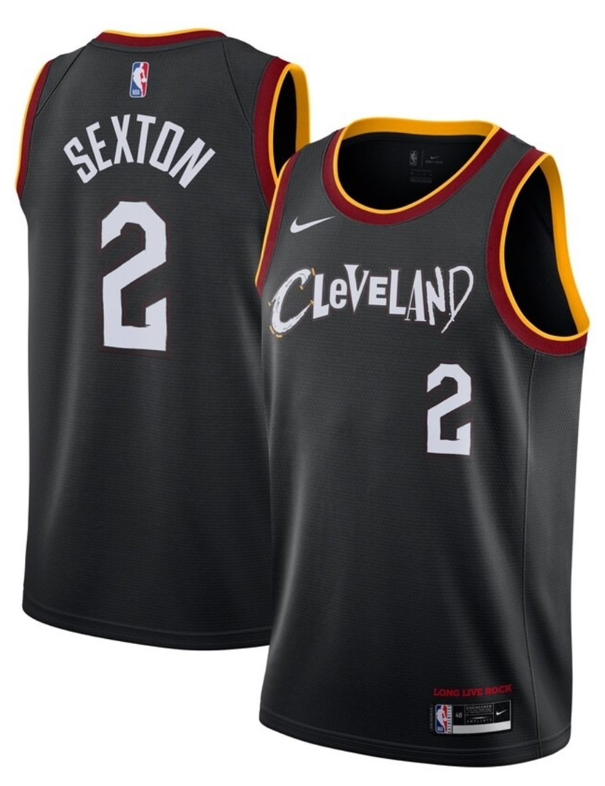 Maillot Nike City Edition 2021 des Cleveland Cavs