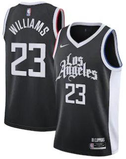 Maillot Nike City Edition 2021 des Los Angeles Clippers