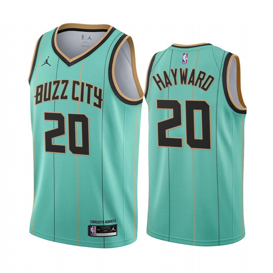Maillot Nike City Edition 2021 des Charlotte Hornets