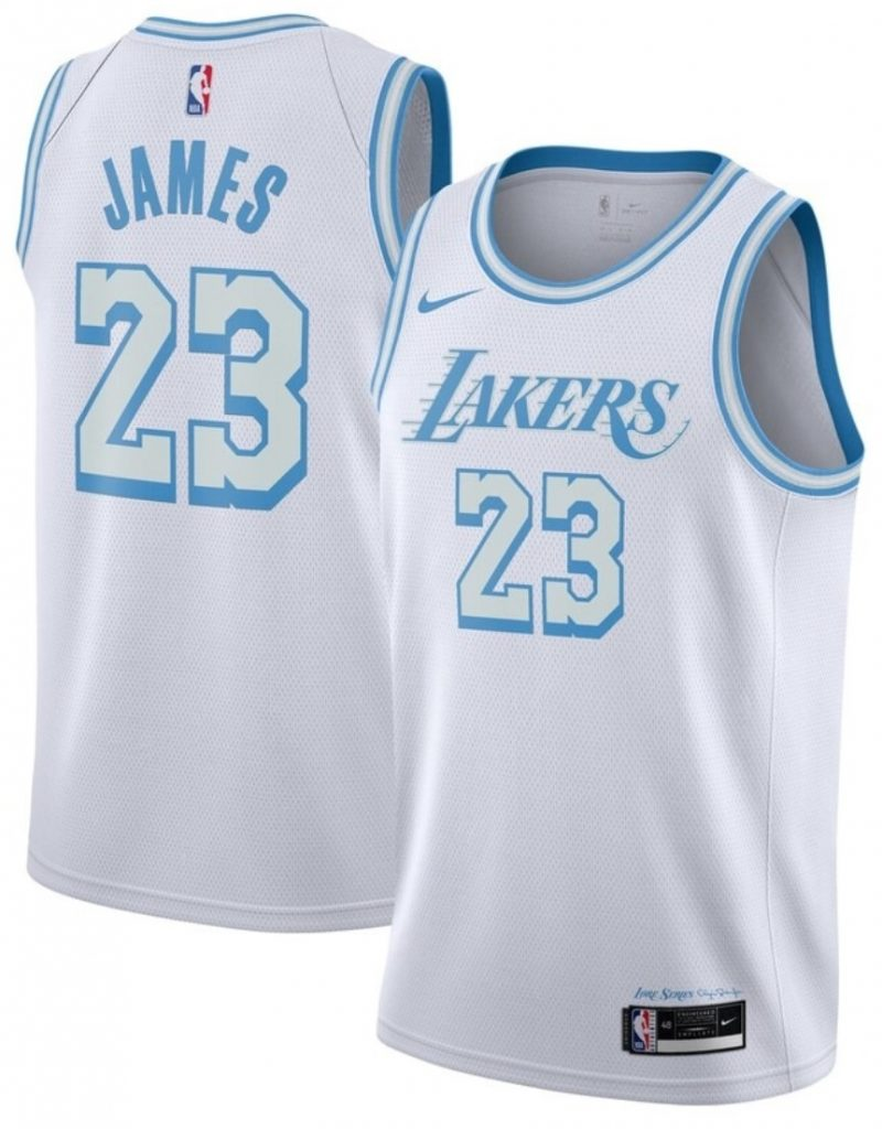 Maillot Nike City Edition 2021 des Los Angeles Lakers