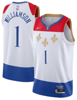 Maillot Nike City Edition 2021 des New Orleans Pelicans